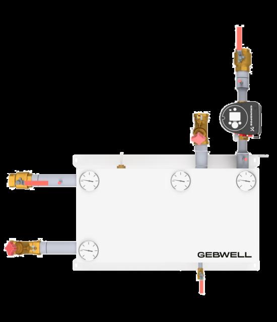 Gebwell-LL-2-way-Shunt-group-DN50